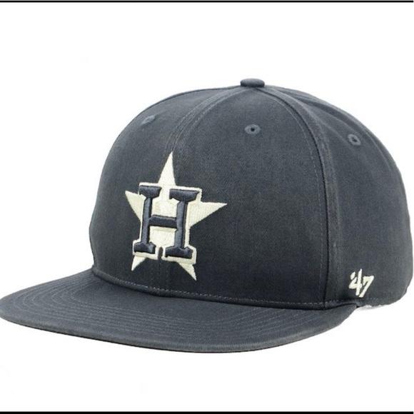 half off 68254 10b14  47 Brand MLB Houston Astros SnapBack Cap